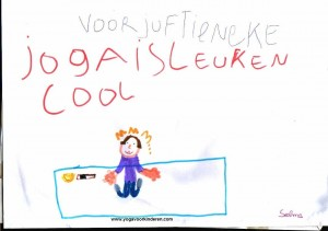 Yoga op school is super leuk en yoga in de klas cool, zeker met FLONKI